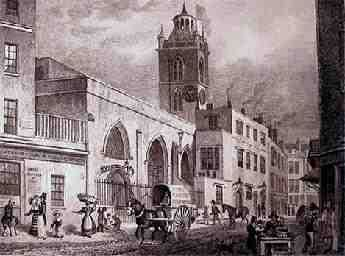 """The Bells St. Giles  In 1090 a Norman church stood on this site but was rebuilt in 1394 during the reign of King Richard II. The church escaped the Great Fire of London in 1666 but was badly burnt in the Cripplegate Fire of 1897 and was hit by a bomb during World War II. Oliver Cromwell was married in the church on 22nd August 1620. The """"Brickbats and Tiles"""" refers to the bricks and tiles used by nearby builders. The reference to bricks is interesting as bricks were introduced to London by…"""