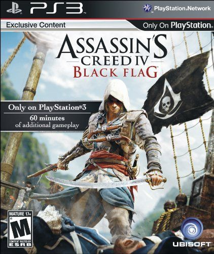 Assassin's Creed IV Black Flag - Playstation 3 from Ubisoft Black Friday Cyber Monday
