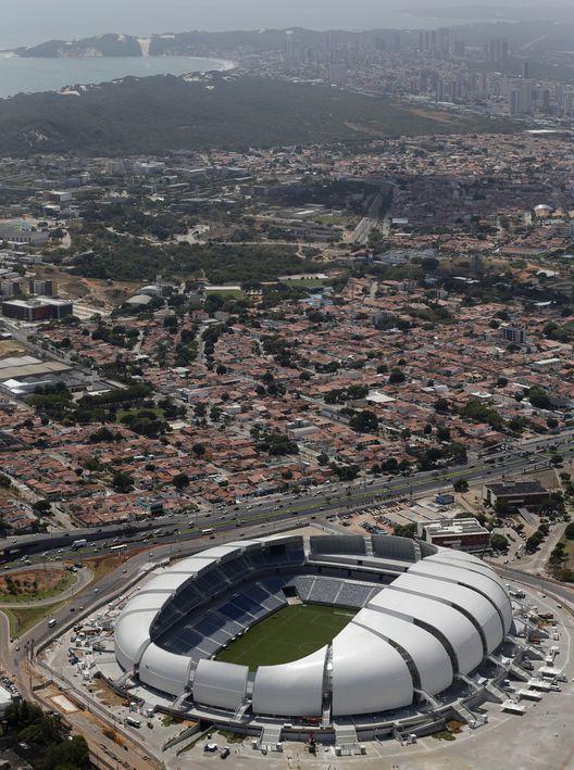 Arena das Dunas / Populous (Arena das Dunas - Lagoa Nova, Natal - Rio Grande do Norte, 59020-510, Brasil) #architecture
