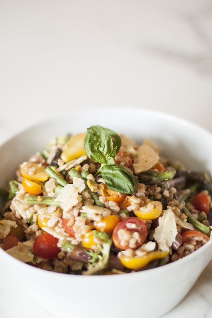 Recipe for Nordstrom Cafe's Farro Salad on Bubbles in Bucktown