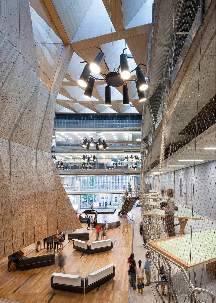 Galeria De Escola Design Da Universidade Melbourne John Wardle Architects NADAAA