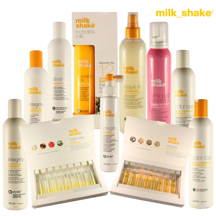 Check Out Our Range of Milkshake Hair Care Products at http://www.glitterstore.co.uk/brands/milkshake.html