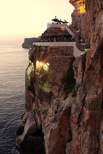 Cueva xoroi, Menorca.Magico