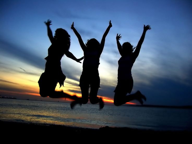 Girlfriends -  gotta have some g-friends that will leap for joy with you