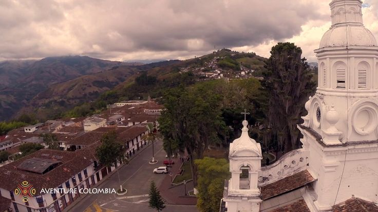 Viajar al Eje Cafetero en #Colombia Marsella y Salamina desde el aire con Drone Aventure Colombia More information on our packages at : http://ift.tt/1iqhKT8 #Coffee