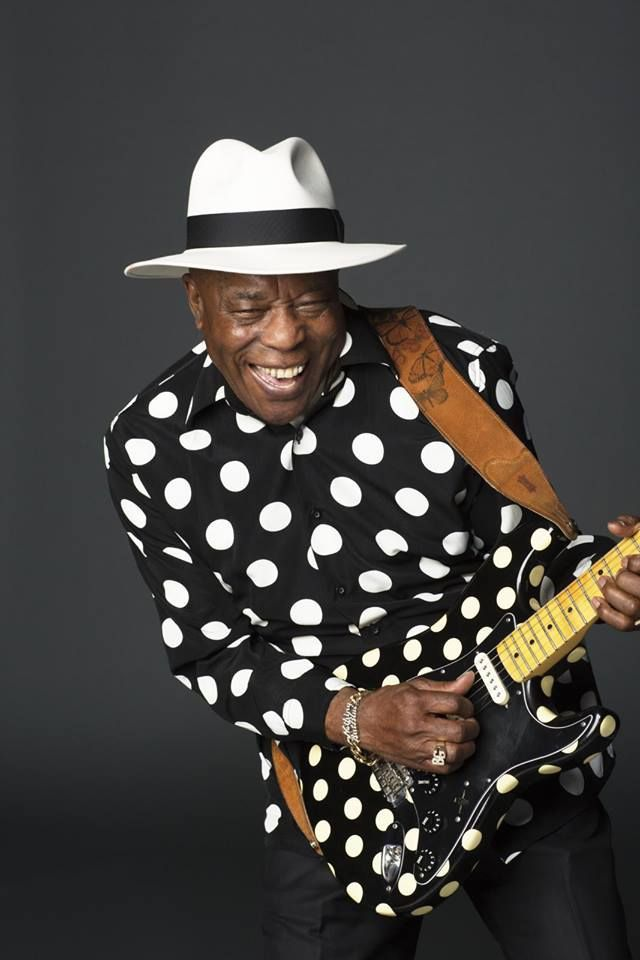 """Music makes people happy, and that's why I go on doing it - I like to see everybody smile."" - Buddy Guy"