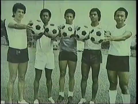 Jairo Arboleda, Oswaldo Calero (creo), Pedro Zape, Henry Caicedo y Miguel Escobar.