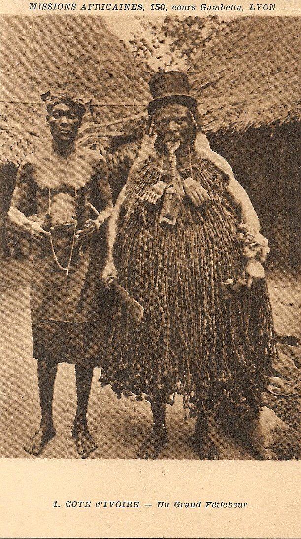Ivory Coast, circa 1920
