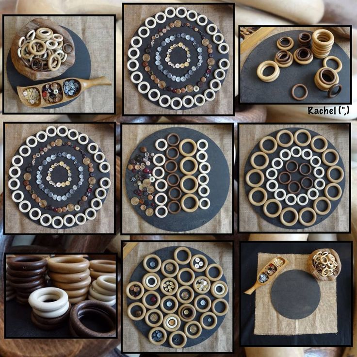 Mandalas- loose parts