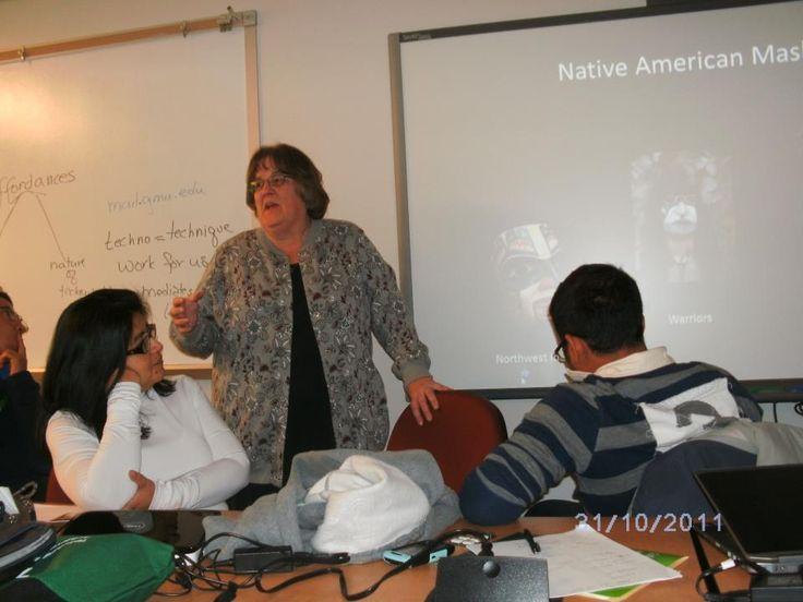 Priscilla's first seminar.