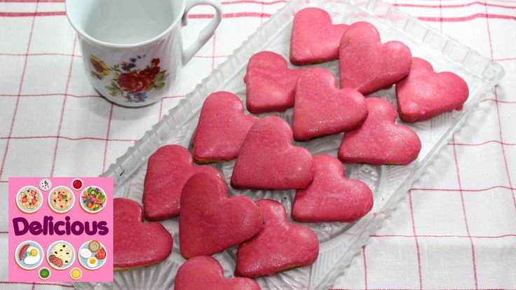 Homemade Valentine's Day Heart Cake Recipe - how to make Easy valentine'...