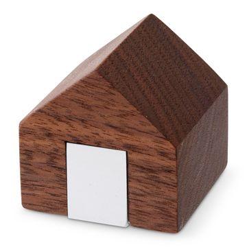 "Holz/小物入れ TATEGU ウォールナット 3150yen 自分だけの大切な""何か""を小さなマイハウスに収納"