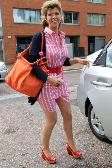 Kate Garraway, Out and About. | Kate Garraway