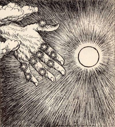 "buffalo-divine-eden-no7:  ""Edmund Joseph Sullivan (1869-1933)  illustration for The Rubaiyat of Omar Khayyam, 1913  """