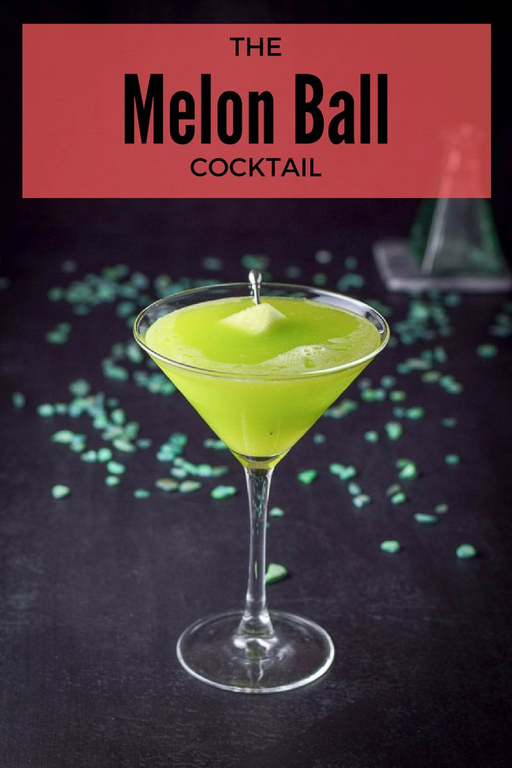 The melon ball cocktail is a drink from the 80's so grab your disco outfit and moonwalk across the floor to the bar. http://ddel.co/mmbcktl