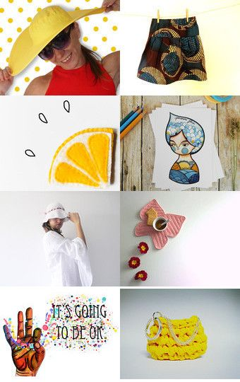 It's summer fun! by Lisa P on Etsy--Pinned with TreasuryPin.com