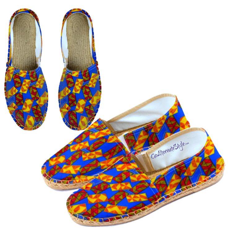 Ankara print men's espadrilles Men's beach loafers #beachloafers #mensslipon #mensholidayshoes by AlternateStyle on Etsy