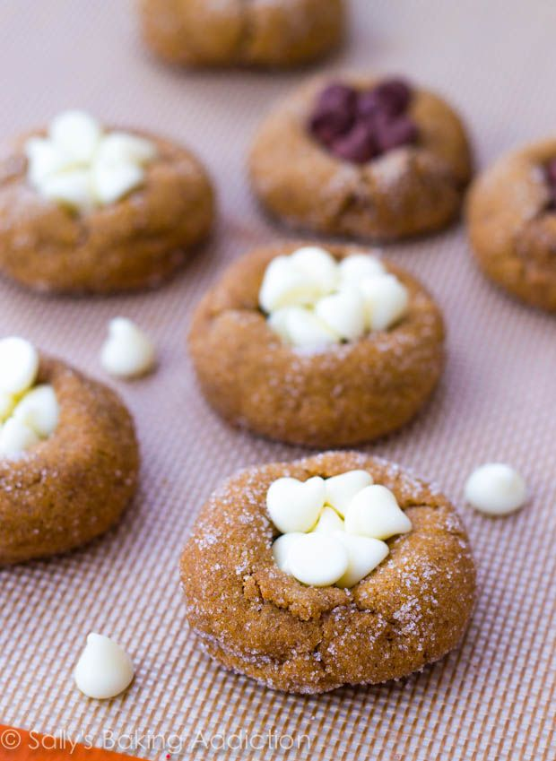 Soft-Baked Gingersnap Molasses Cookies | Recipe | Easy recipes, Recipe ...