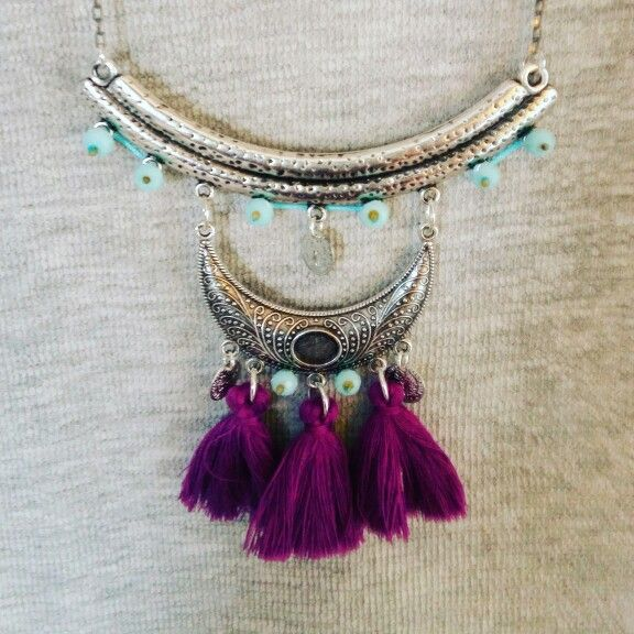Boho necklace!