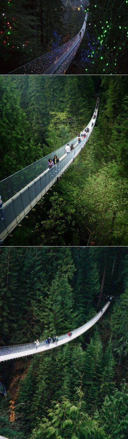 Подвесной мост Капилано, Норт-Ванкувер, Британская Колумбия | ЛЮБИТЕЛИ ПУТЕШЕСТВОВАТЬ