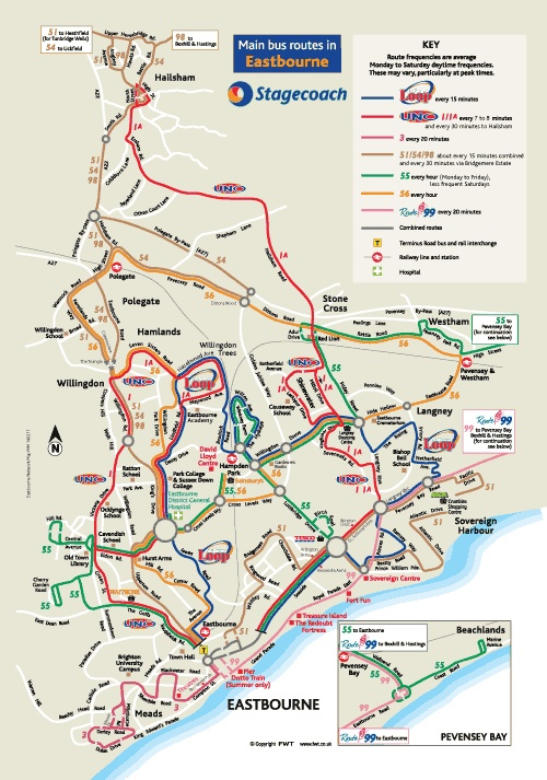 Eastbourne bus routes