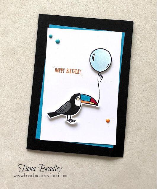 Happy Birthday - Bird Banter - Stampin' Up - Fiona Bradley
