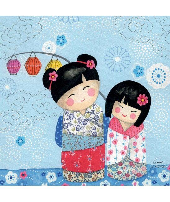 Tableaux chambre d'enfant et bébé : Kei Kasumi