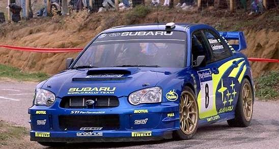 2003 Subaru Impreza WRC Mäkinen-Lindström (44S) WRC03