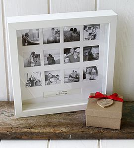 'Our Year' Valentines Photo Frame - gifts for him
