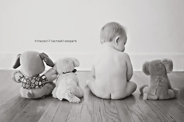 9 month session #children #photography #poses: Photos Ideas, Baby Shoots, Photography Tips, Baby Photography, Stuffed Animal, Creative Children Photography, Children Photography Poses, Photography Ideas, Baby Butts