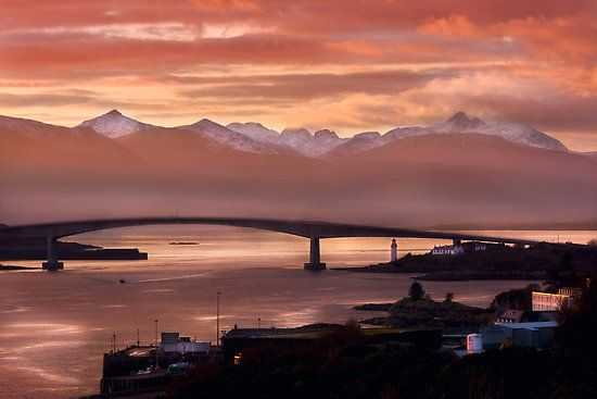 Bridge, Isle of Skye. Scotland