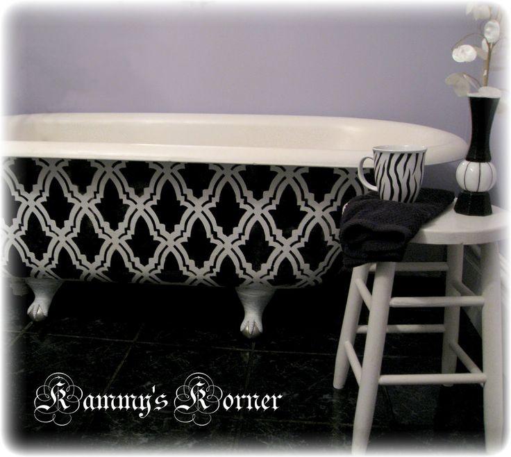 Best 25+ Painting Bathtub Ideas On Pinterest   Painted Bathtub, Bath  Refinishing And Restore Paint