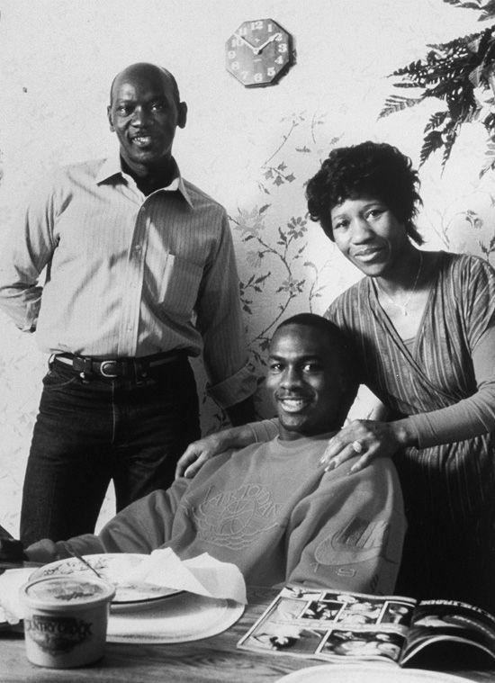 Michael & his parents