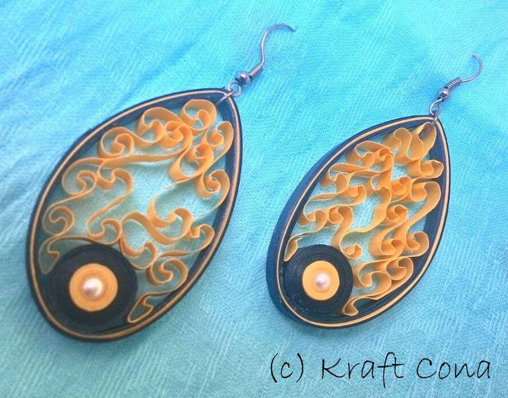 A unique pair of earings!