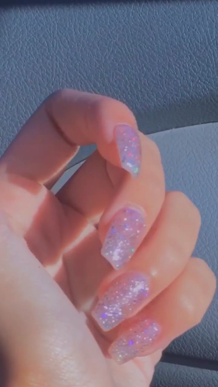 Aesthetic Acrylics In 2020 Best Acrylic Nails Short Acrylic Nails Pretty Acrylic Nails