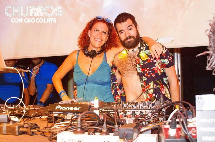 Churreros ya tenéis en FaceBook las fotos de la inauguración de temporada en Barcelona. Volvemos este domingo 1 de octubre en Sala Apolo. -fotos de @Shinnyshadpw -  #ChocoChurros #SoyChurrero #ChurrosConChocolate #Raffaella_Ven #SurfingChurros #Barcelona #BienDePromo