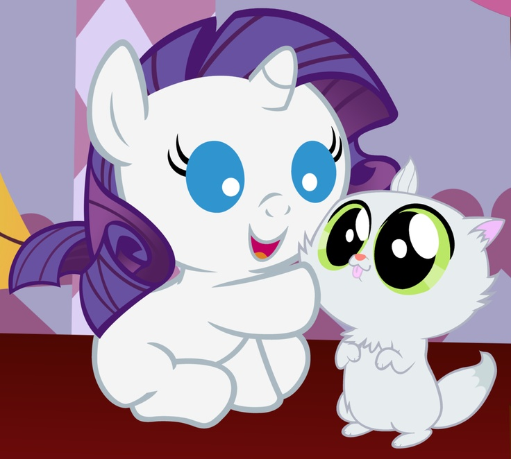 My little Pony! Baby Rarity