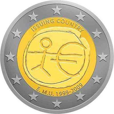 """Colección monedas 2 euros """"10 AÑOS EMU"""", Tienda Numismatica y Filatelia Lopez, compra venta de monedas oro y plata, sellos españa, accesorios Leuchtturm"""
