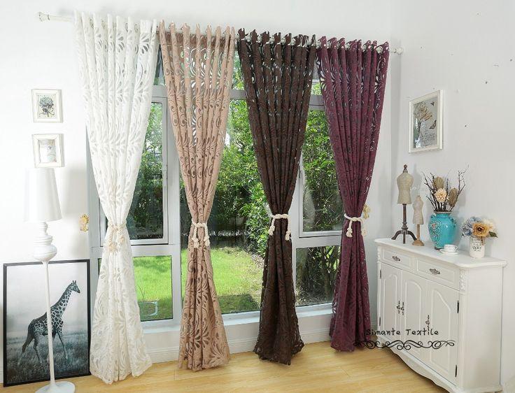 Több szín kész félig sötétítőfüggöny vak panel szövetek ablak lila függöny-in függönyök Home & Garden Aliexpress.com | Alibaba Group