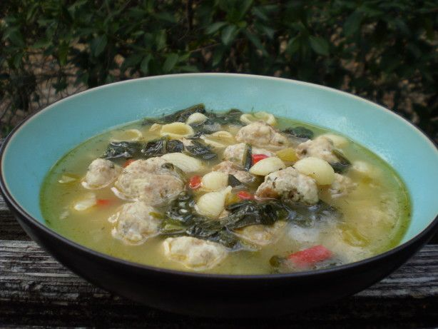 Make and share this Ina Garden's Italian Wedding Soup recipe from Food.com.