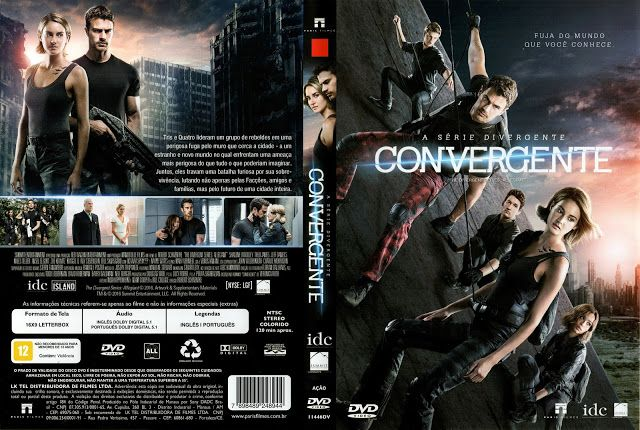 Angel Movies & Games Covers: A Série Divergente: Convergente