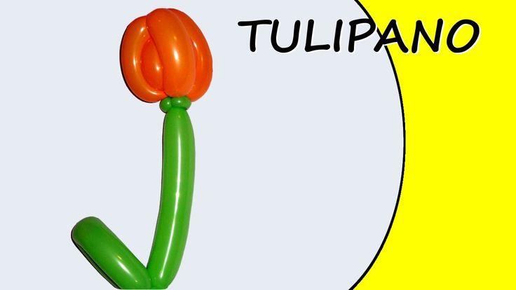 Video tutorial su come realizzare la figura del tulipano con i palloncini modellabili. #palloncini #PallonciniModellabili #balloon #BalloonTwisting #globoflexia #globos