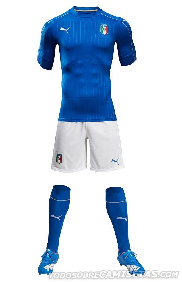 Italy EURO 2016 Home Kit