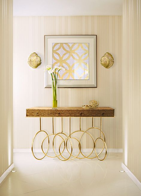 @KOKET Love Happens Projects with Burlesque Console and Passion Sconce http://www.bykoket.com/projects.php