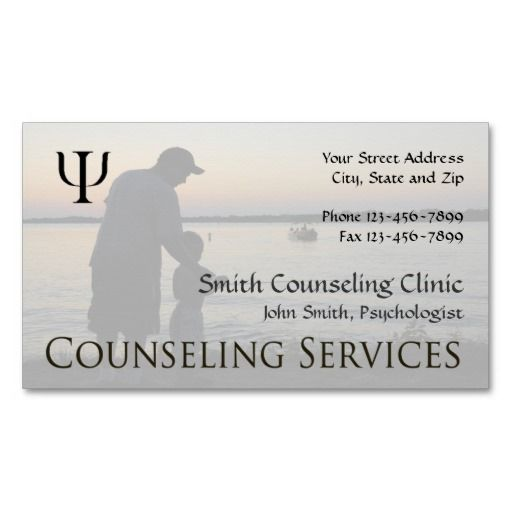 183 Mejores Imagenes De Mental Health Counselor Business Cards En