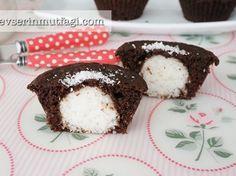Hindistan Cevizli Sürpriz Muffin