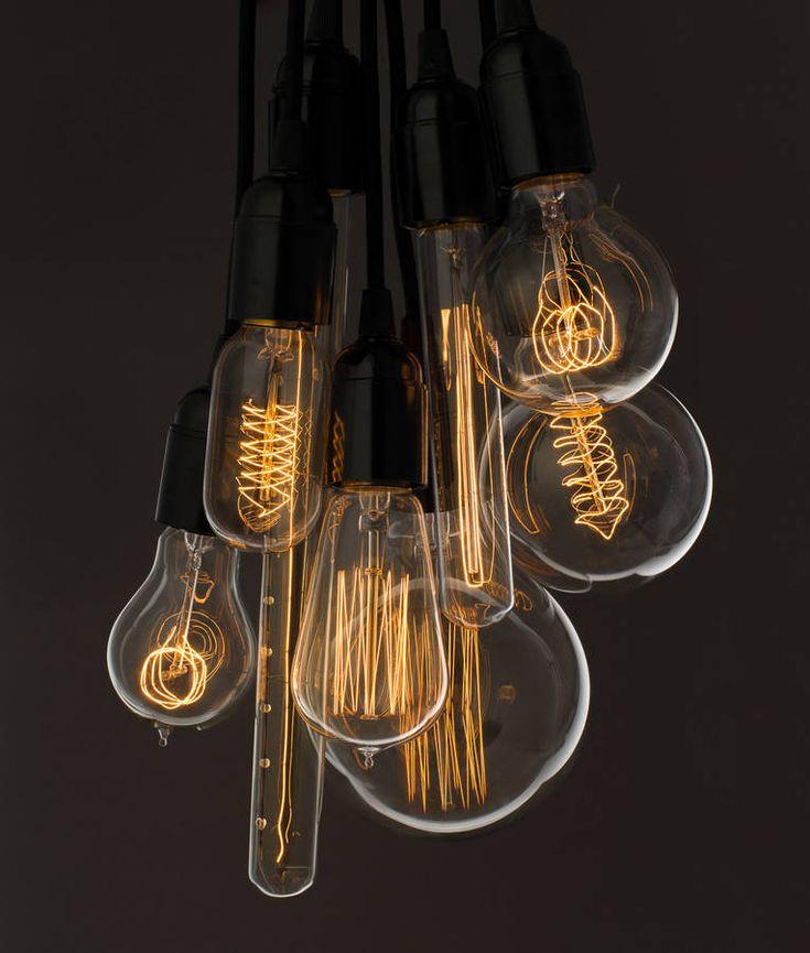 vintage light bulb by dowsing & reynolds | notonthehighstreet.com