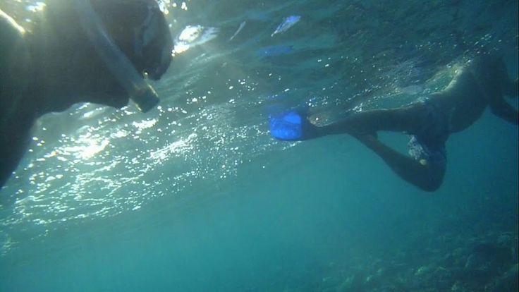 snorkeling Λαμπίρι