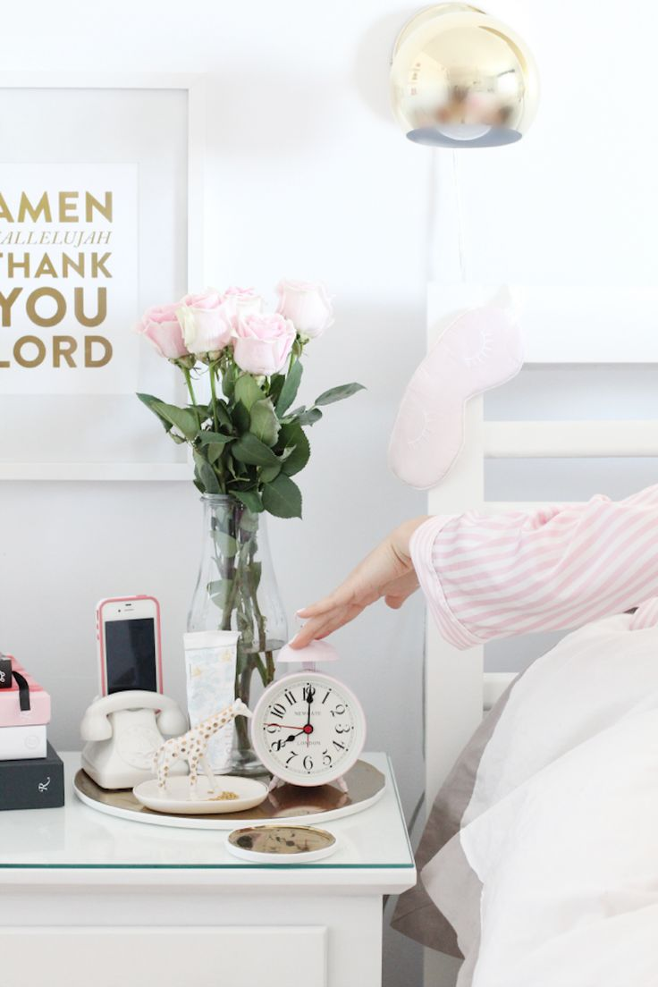 Decorative Bedroom Alarm Clocks: How To Build A Morning Routine