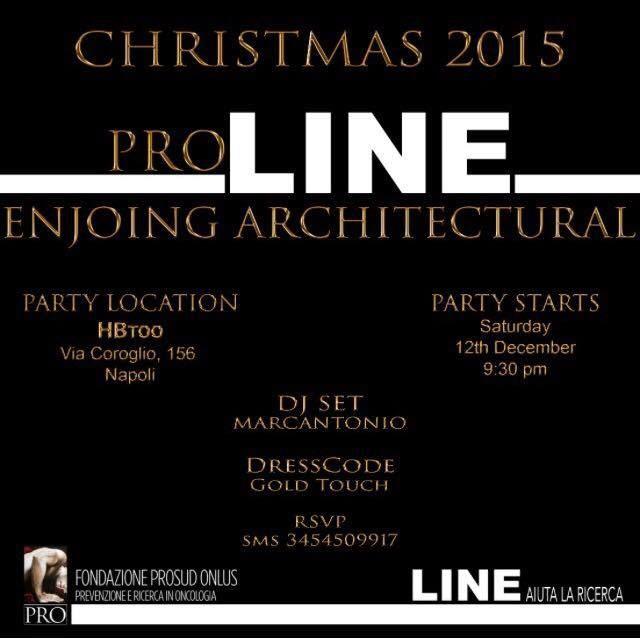Musica e beneficenza per sostenere la ricerca: Pro Line Enjoying Architectural per la Fondazione Prosud